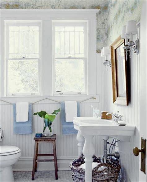 Beadboard Wallpaper Bathroom by Come Arredare Il Bagno Per L Estate La Figurina
