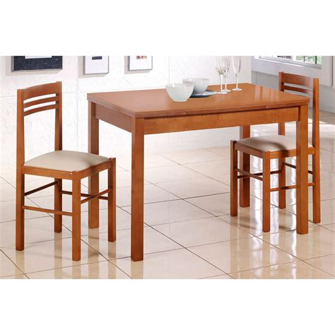 mesa de cocina extensible en madera de cristal modelo naranja - Mesas De Cocina De Madera Extensibles