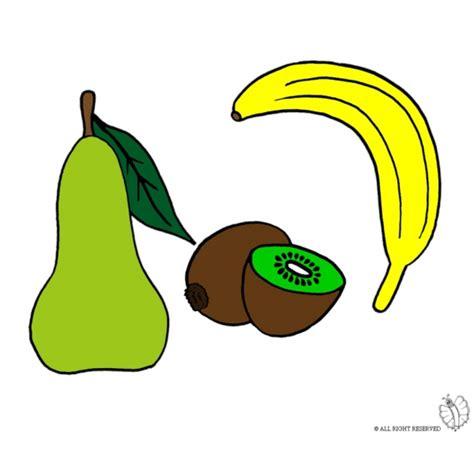 disegni alimenti per bambini disegno di frutti a colori per bambini