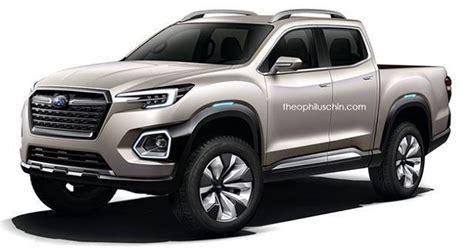 Subaru Truck 2019 by 2019 Subaru Truck Based On Viziv 7 Concept 2018