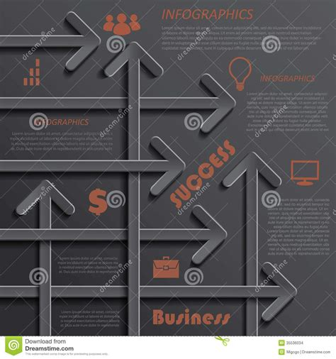 graphic design layout diagrams modern template infographics design for business