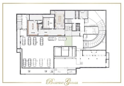 basement garage plans floorplans for chalet n sleeps 22 luxury ski chalet in