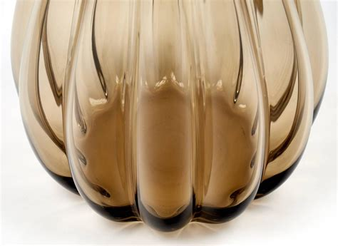 large murano smoked glass vase for sale at 1stdibs