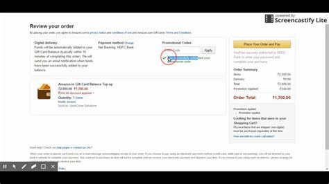 Amazon How To Use Gift Card Balance - how to use coupon code on amazon india to purchase amazon gift card balance youtube