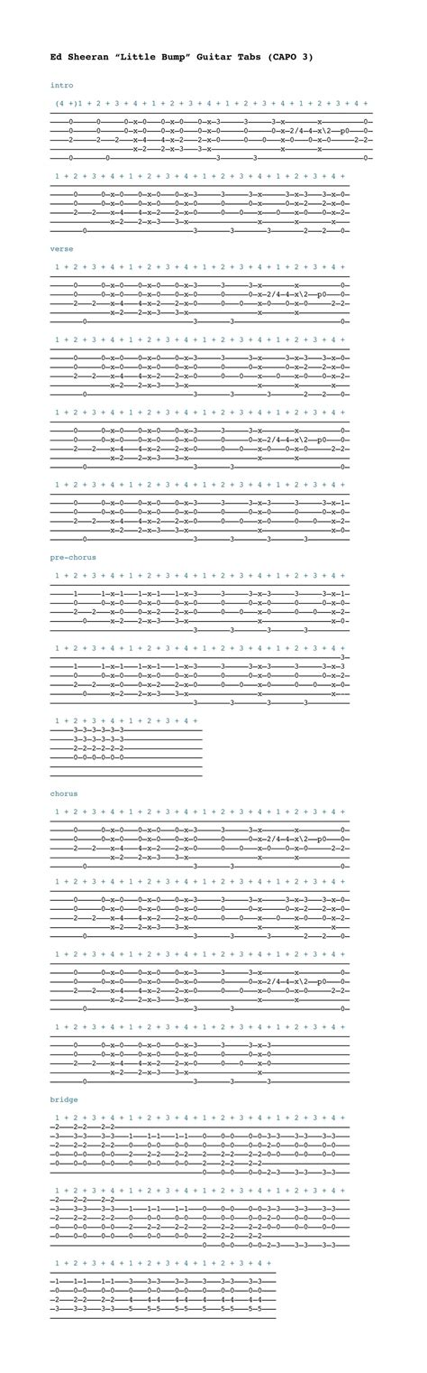 Collection of Small Bump Chords   Small Bump Chords, Small Bump Ed ...