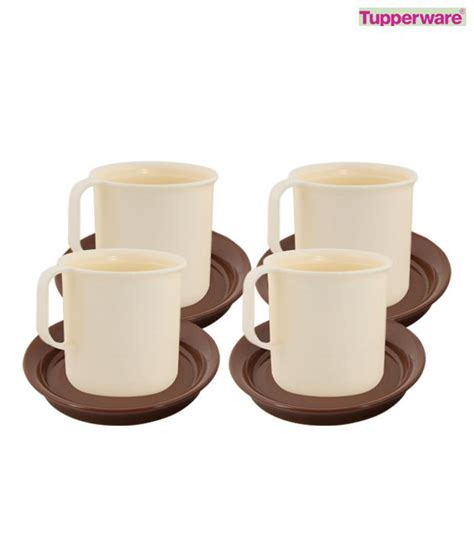 Tupperware X Treme Cafe Mug Coffee Tumbler tupperware coffee mugs with coasters set of 4 buy at best price in india snapdeal