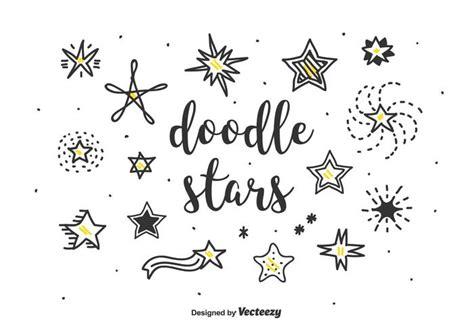 free doodle vector set doodle vector set free vector stock