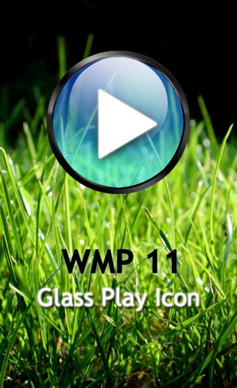 Teh Wmp wmp 11 glass play icon by teh bug on deviantart