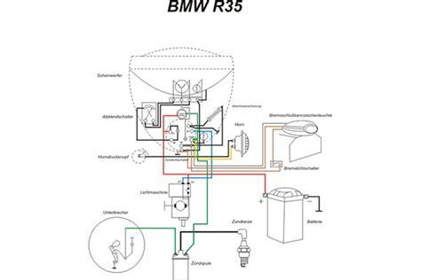 Bmw Motorrad E10 by Kabelbaum Passend F 252 R Bmw R 35 Mit Schaltplan 36 90