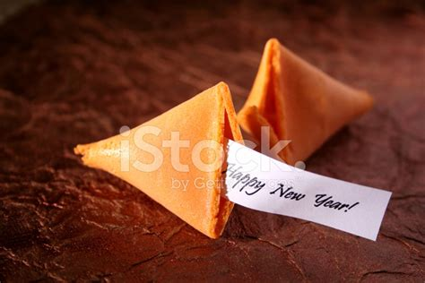new year and fortune cookies fortune cookie happy new year stock photos freeimages