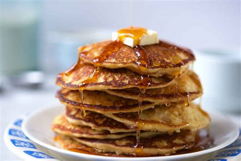 whole grain pancakes 21 day fix healthy pancake recipe from scratch