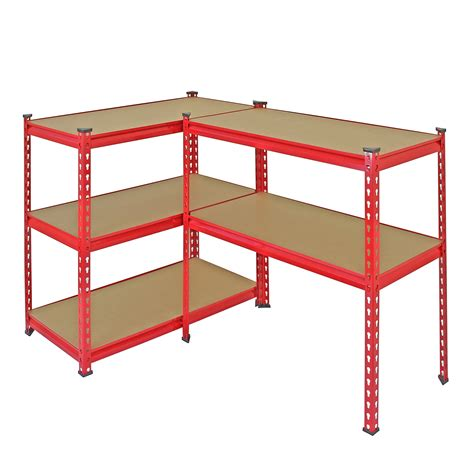 3 garage shelving racking 90cm storage units heavy duty