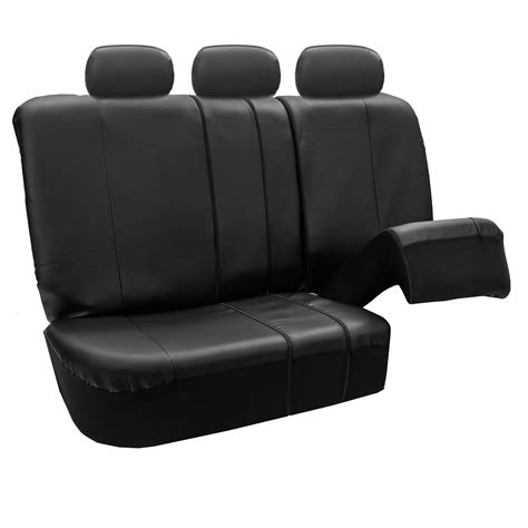 split bench seat cover premium leatherette split bench seat covers ebay