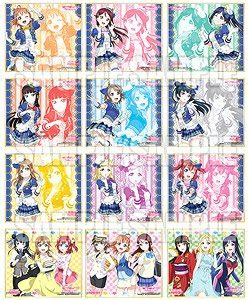 Gantungan Mini Figure Live School Idol Festival Original Banprest live trading mini colored paper vol 4 set of 12 anime hobbysearch