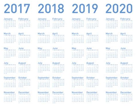 custom 2016 2017 2018 2019 1 year planner a5 or personal calendars 2018 2019 2020 calendar template 2018