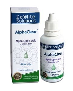 Alpha Lipoic Acid Metal Detox by Alphaclear Zeolite With Alpha Lipoic Acid Alternative
