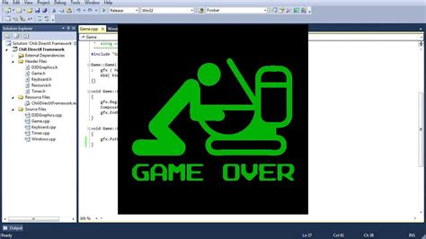 tutorial video game programming beginner c directx game programming tutorial lesson 1