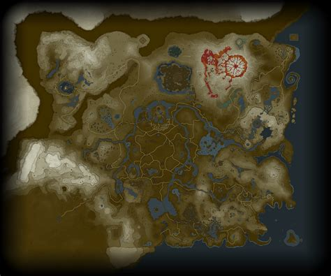Legend Of The Breath Of The Map the legend of breath of the world map datamined and it looks pretty big vg247