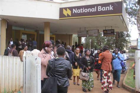 national bank nairobi national bank of kenya paralys 233 72h par une panne sur sa