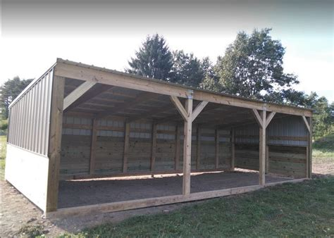 Portable Cattle Sheds by Heavy Duty Portable Barn Livestock Shelter Goat Shed