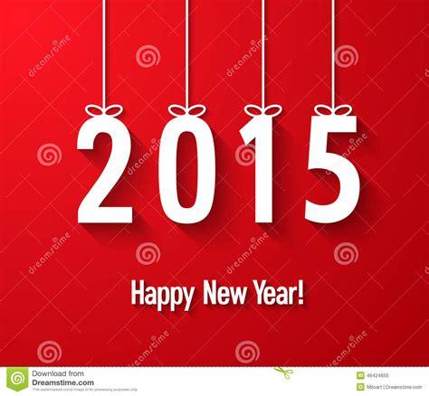 new year 2015 card vector happy new year 2015 creative greeting card vector