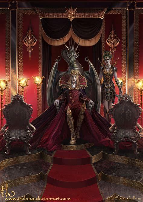 dragon throne by irulana on deviantart