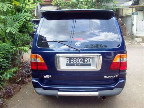 Filter Udara Kijang 1 8 Efi Diesel By Denso Murah jual toyota kijang lgx 1 8 efi bensin m t 2001 biru metalik pusat mobil