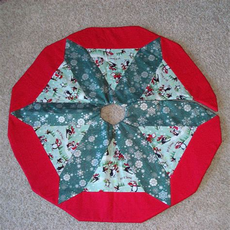 table top size christmas tree skirt by thewelldressedtree