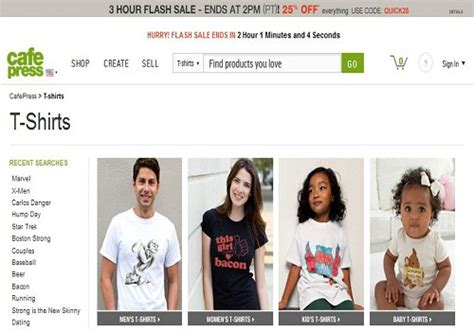Selling T Shirts Online To Make Money - 5 amazing websites to design sell t shirts online to make money