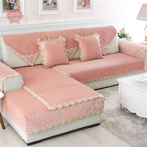 sofa protector cover for storage popular pink sofa covers buy cheap pink sofa covers lots