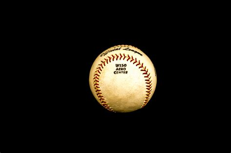 wilson official league baseball no w150 in box vintage