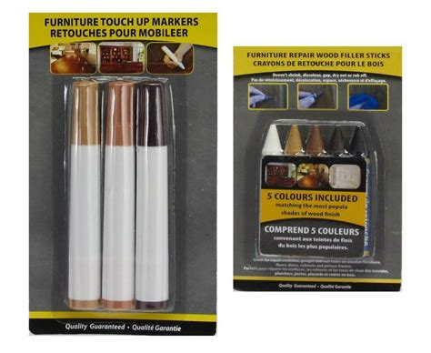 pc wood furniture touch  kit marker  wax scratch