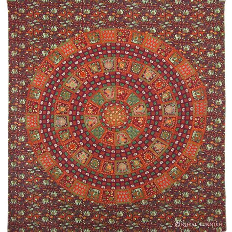 indian mandala room decor hippie tapestry wall