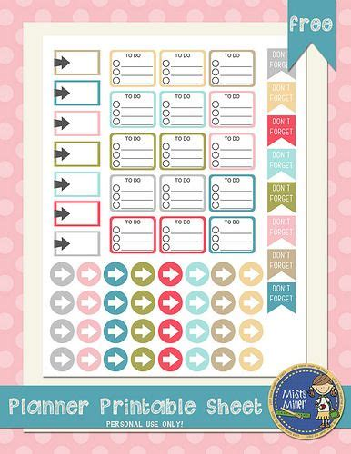free printable planner supplies 131 best planner supplies images on pinterest