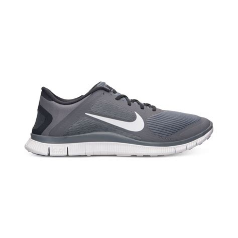 cool sneakers mens nike mens free 40 v3 running sneakers from finish line in