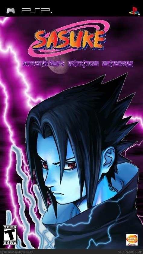 sasuke s story sasuke another s story psp box cover by