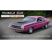 Car Of The Week Video 24 1970 Dodge Challenger T/A Panther Pink