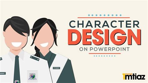 powerpoint design youtube how to make a cartoon character avatar design profile
