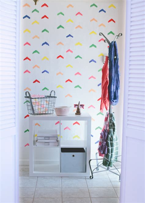Make Your Own Wall Paper - how to make your own wallpaper a subtle revelry