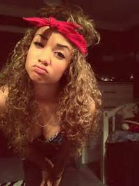 Light Skin Girls With Curly Hair And Swag Tumblr Pin