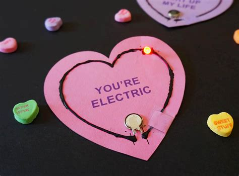 Happy S Day Light Up Card Template by Updated Light Up Circuit Valentines Left Brain Craft Brain