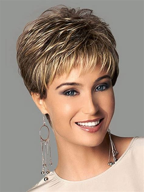new wig styles for 2015 new coming 2015 highlights blonde short female haircut