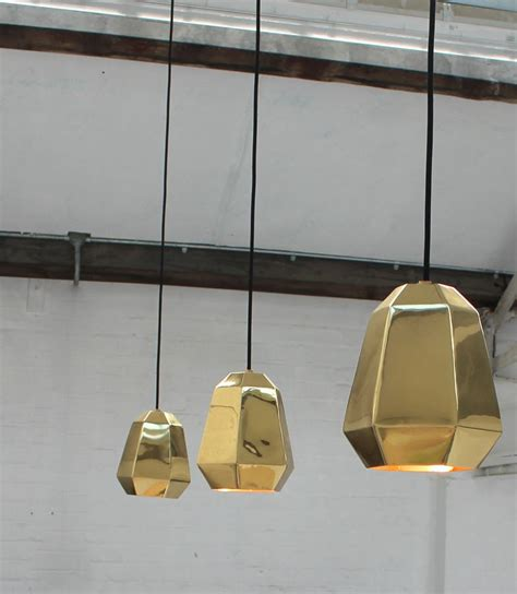 brass kitchen lights copper or brass pendant light by the forest co