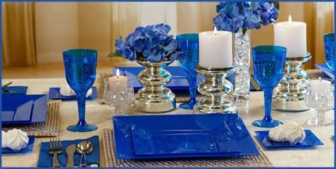 royal blue premium tableware city