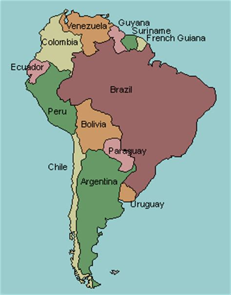 south america map countries and capitals quiz test your geography knowledge south america countries