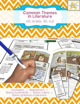 themes in australian literature theme assessment 4th grade with minilesson and by