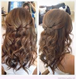prom hairstyles half up half down for medium hair download