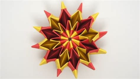 How To Do Cool Origami - how to fold cool origami yami yamauchi fireworks step by