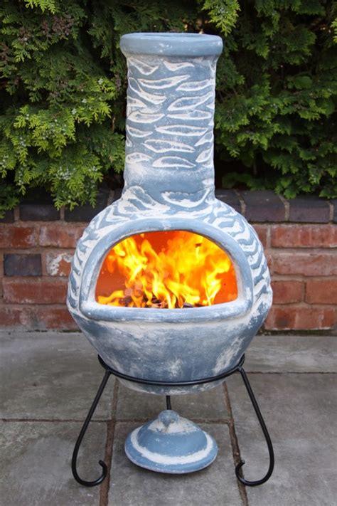Clay Patio Heater Large Olas Mexican Clay Chimenea Patio Heater Savvysurf
