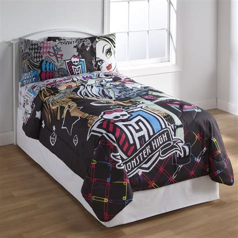 monster high bedding set monster high bedding and bedroom decor
